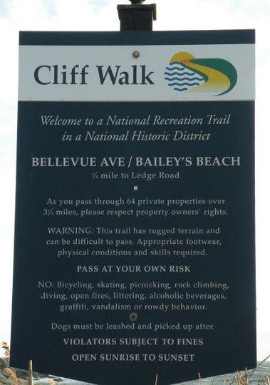 Cliff Walk; Newport, RI