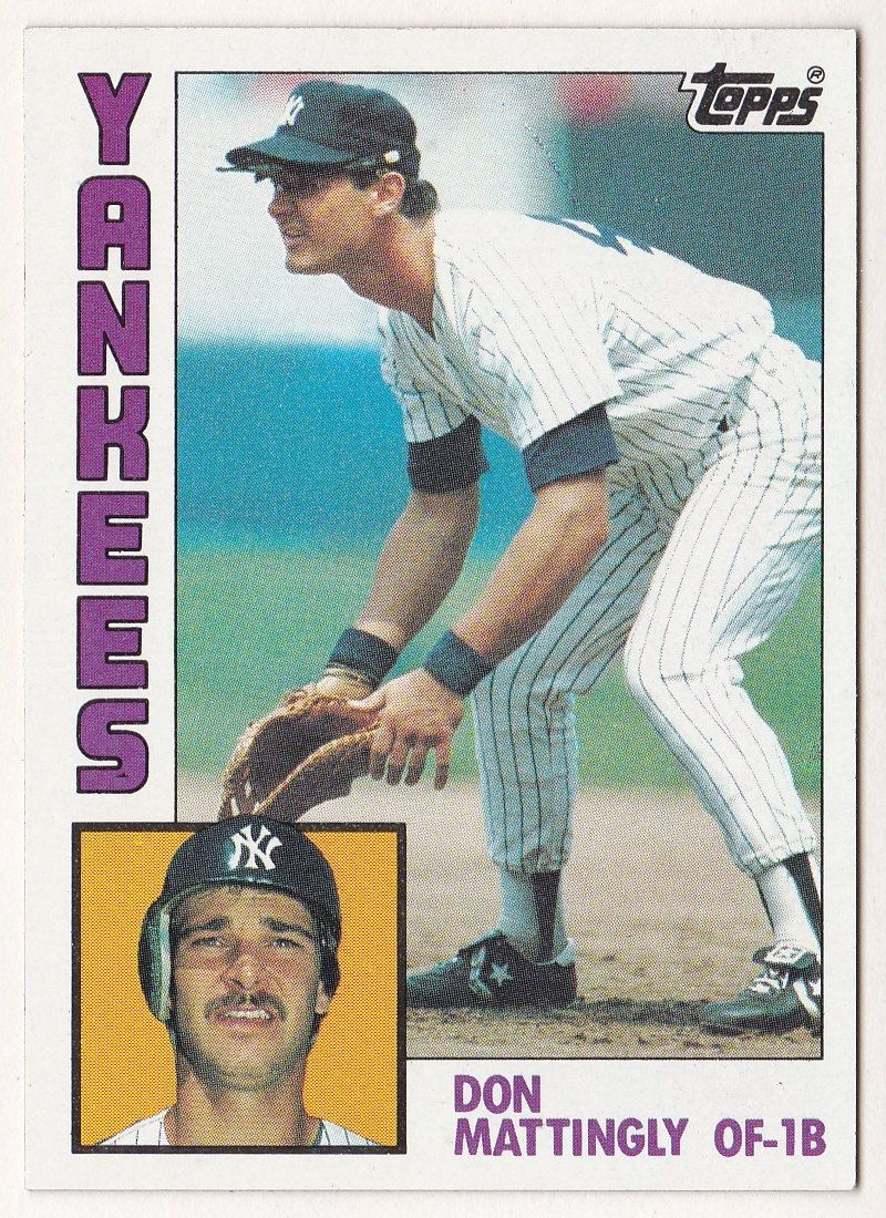 Don Mattingly #Rookie 1984 #Topps #8 #Baseball Card - New York Yankees,  View more on the LINK: http://www.zeppy.io/product/gb/3/215943213/