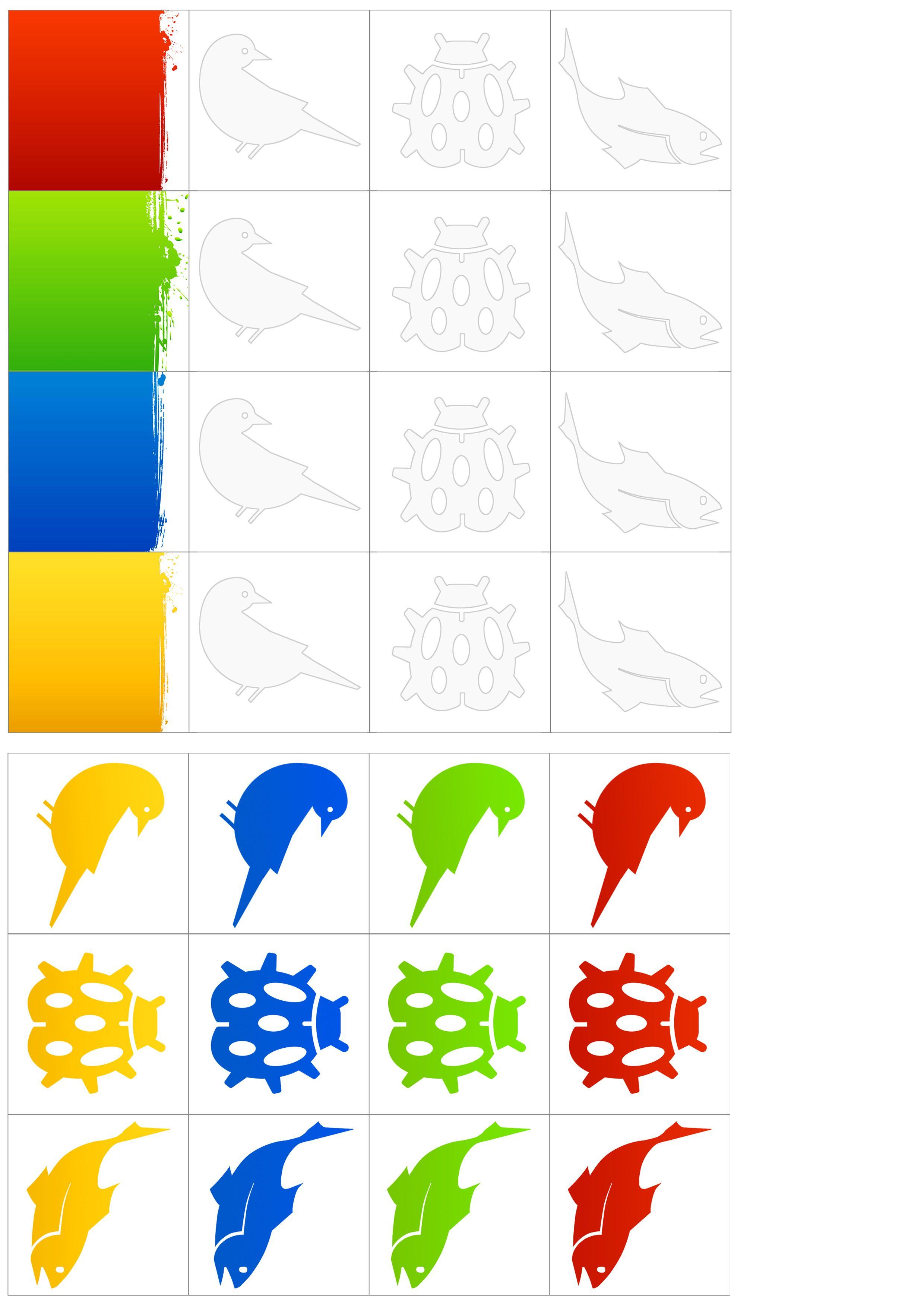 09 Farver Og Dyr