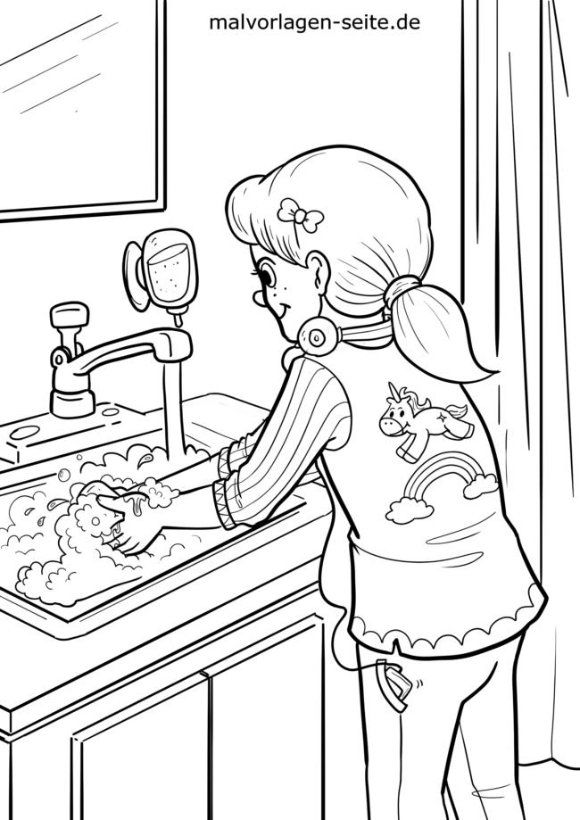 Malvorlage Hande Waschen Korperpflege Kostenlose Ausmalbilder Malvorlagen Ausmalbilder Kostenlose Ausmalbilder