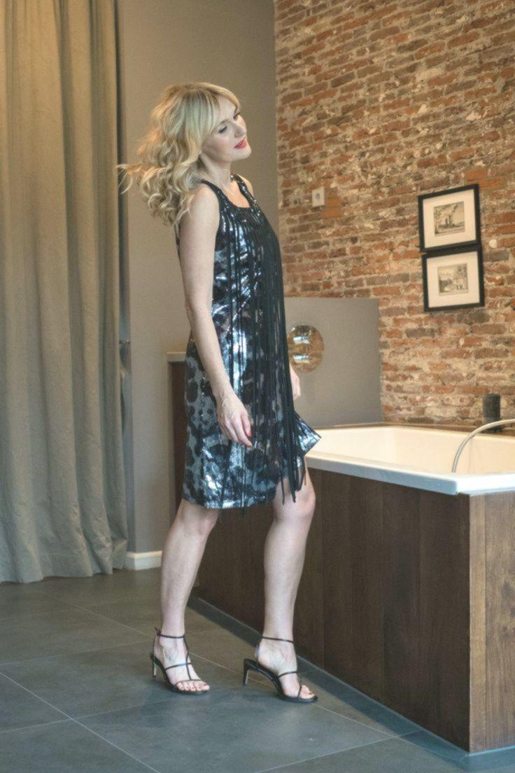 Kleid #mit #Pailletten #von #WENZ, #Outfit #für - #für #Kleid #Mit