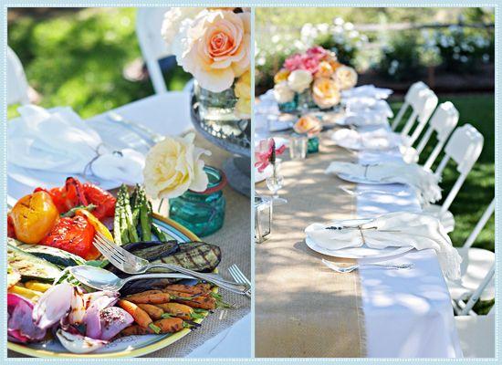 California Al Fresco Summer Dinner Party! #laylagrayce #blog #entertaining