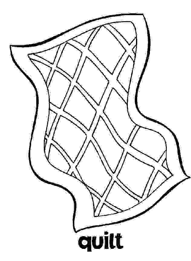 Coloring Pages Quilt Interior Design Decoration