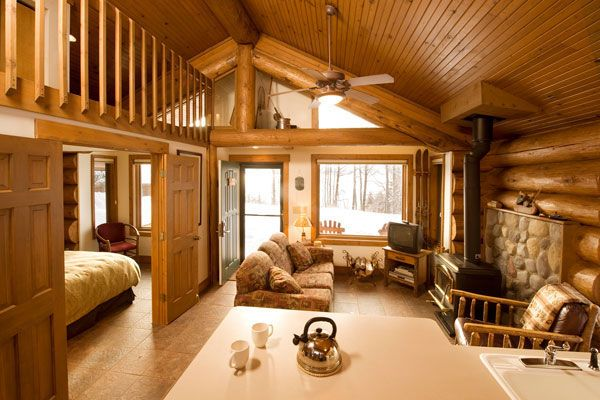 1 Bedroom Cabin One Room Cabins Small Cottage Homes Cabin Homes
