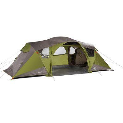 Tente Camping Tente 4 Places 2 Chambres Seconds Family 4 2 Xl Quechua Tentes Tente Randonnee Tente Familiale Camping Tente