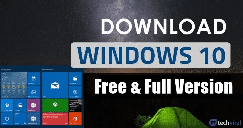 windows 10 software download for pc free full version
