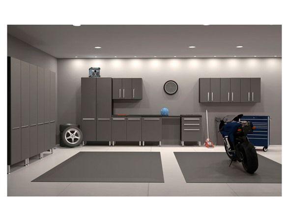 Best finished garage ideas on pinterest mud room