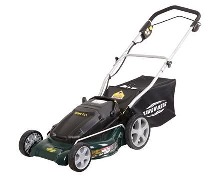 Yardworks 36V 19-in Cordless Mower   Canadian Tire   Outside