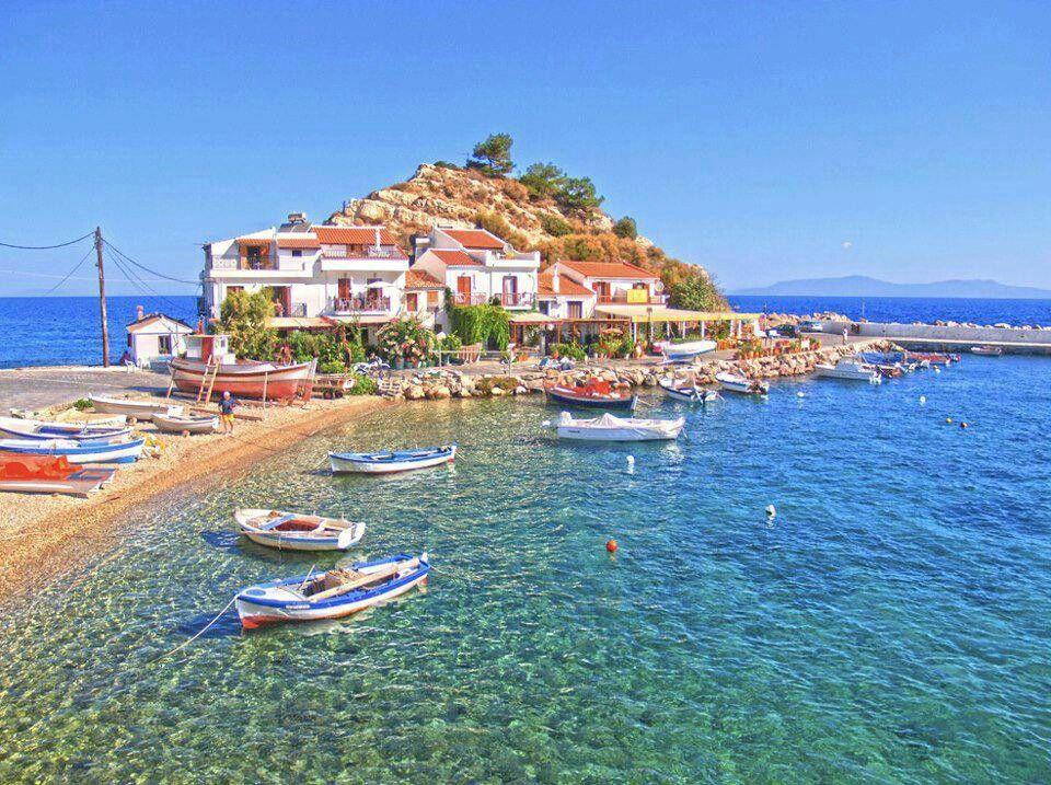 Kokkari samos Island Greece