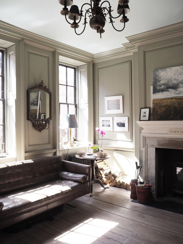 Georgian Drawing Room: Sneak Peek Inside A Georgian Townhouse In Spitalfields