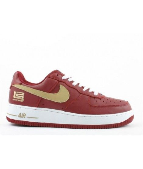 5626abfdf1a7 Air Force 1 Low Lebron James Varsity Crimson Jersey Gold Coll Navy ...