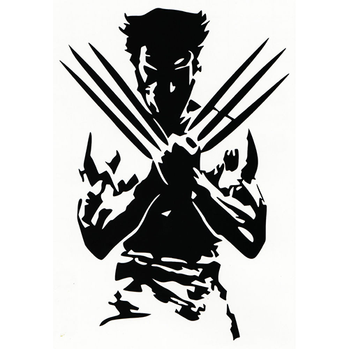 Wolverine Laptop Car Truck Vinyl Decal Window Sticker PV - Window decals for cars and trucksdecals stickers vinyl decals car decals general