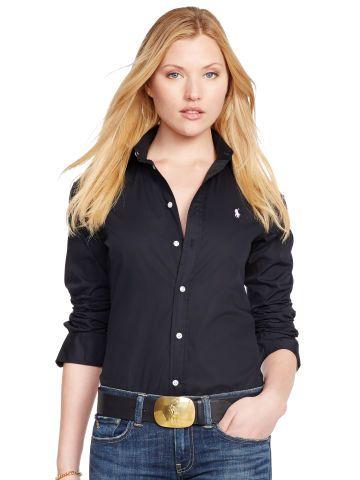 Polo Ralph Lauren Slim-Fit Poplin Shirt - Polo Ralph Lauren Long Sleeve - Ralph Lauren Germany