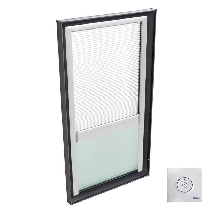 Velux Fscc 2234 Solar Powered Room Darkening Skylight Blinds For Fcm 2234 Vcm White Skylight Acce In 2020 Light Filtering Blinds Skylight Blinds Skylight Accessories