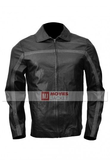 Replica Daniel Craig Layer Cake Leather Jacket From The Movie Layer Cake. This Jacket Worn By Daniel Craig. Buy Layer Cake Leather Jacket For Mens for Sale.