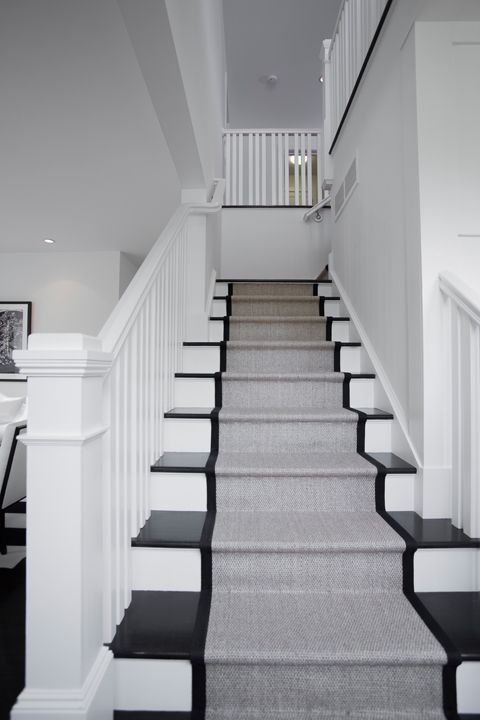 Best Image Result For White Stairs With Runner Contemporary 400 x 300