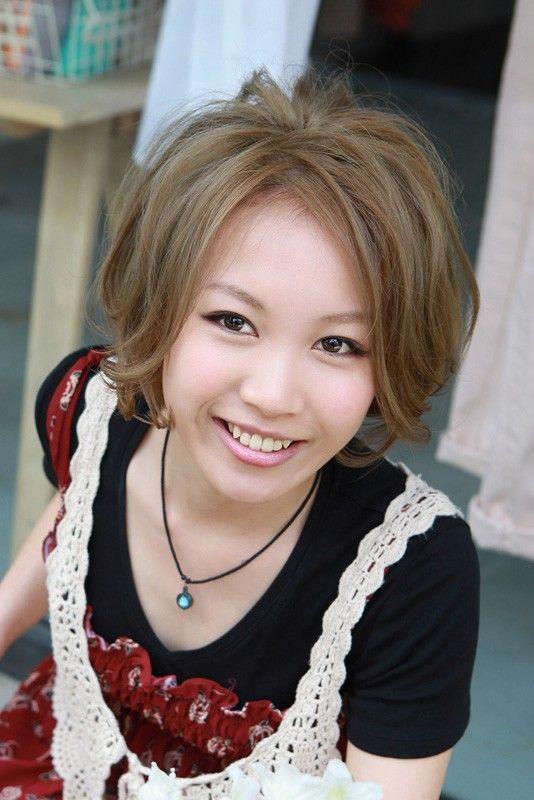 short japanese haircut - glamorous