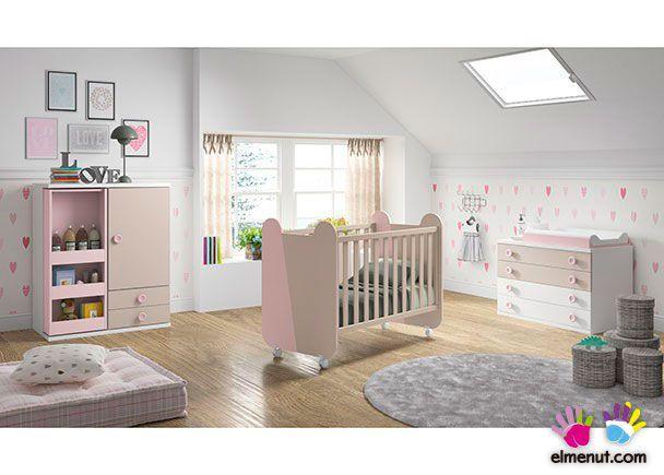 Dormitorio Infantil con cuna 547-S102014   Novedades de mueble ...