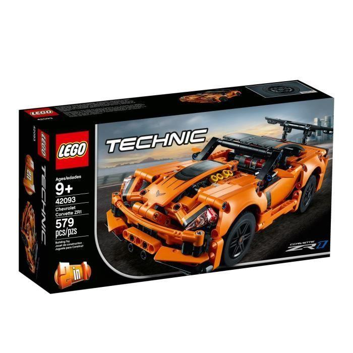 Lego Technic 42093 Chevrolet Corvette Zr1 Corvette Chevrolet