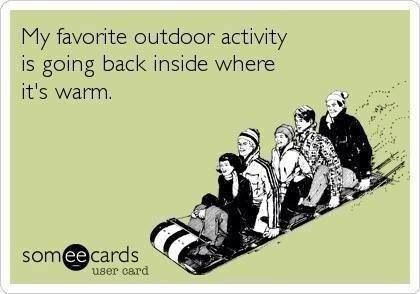 My favorite outdoor activity