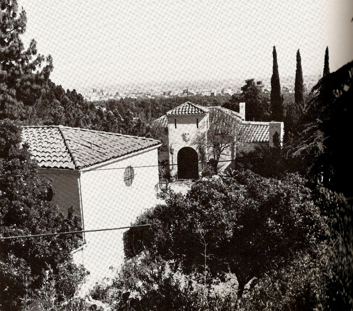 Old Hollywood Homes My Love Of Old Hollywood Hollywood At Home Rudolph Valentino's