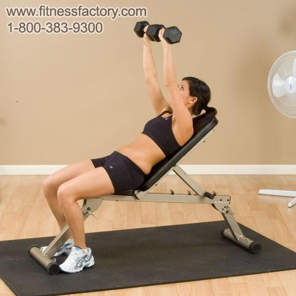 Best Fitness Folding Bench Bffid10 For Barbell And Dumbbell