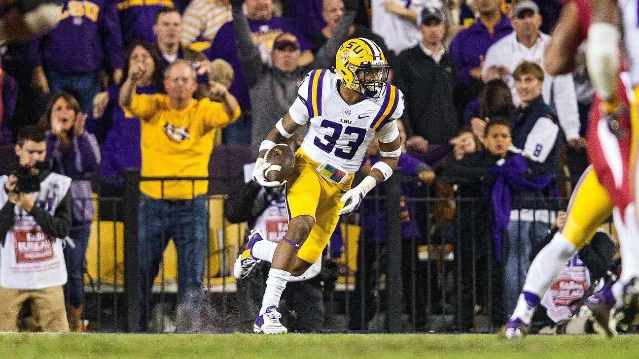 LSU safety Jamal Adams' 40 time might help him 'make history' #FansnStars