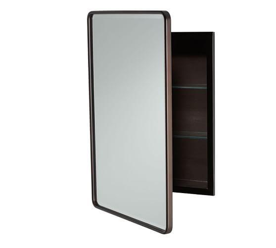 Vintage Recessed Medicine Cabinet  Mirrors  Recessed