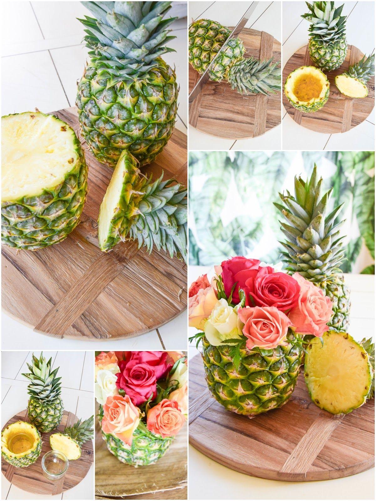 Photo of DIY ananasvase: enkelt og gjort på 5 minutter! Borddekorasjon til sommeren …