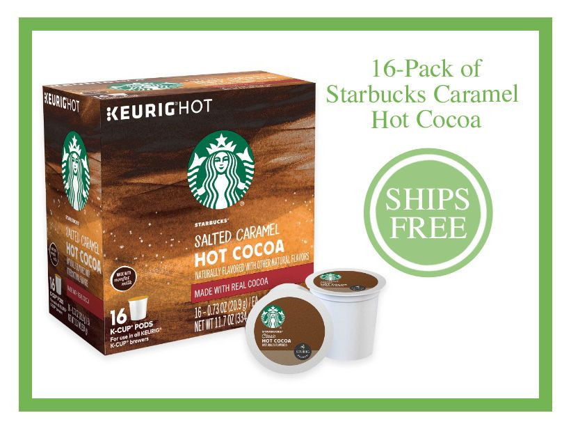 New Starbucks Salted Caramel Hot Cocoa Chocolate Keurig K