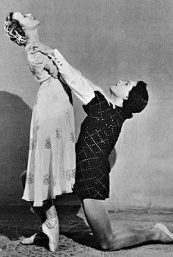Galina Ulanova & Konstantin Sergeev in Romeo & Juliet