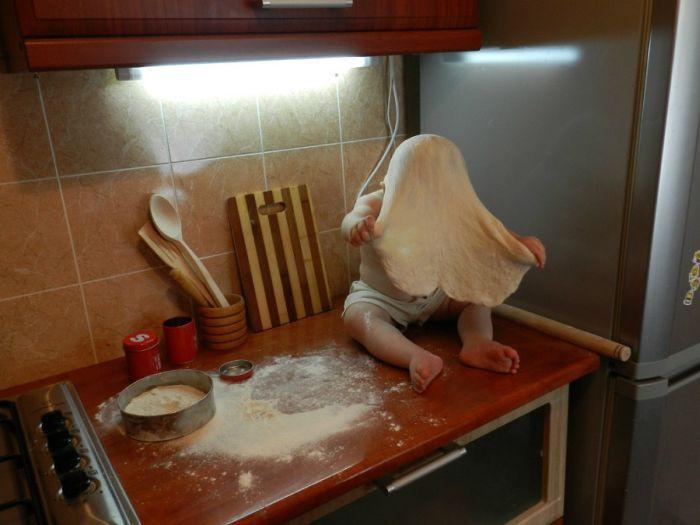 fazendo pizza