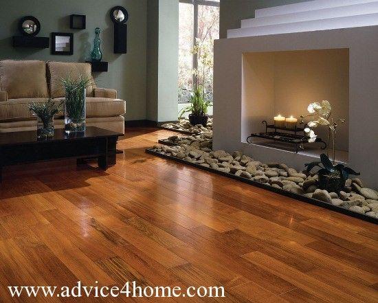 Pictures Of Hardwood Floors Dark Red Hardwood Flooring And Cream