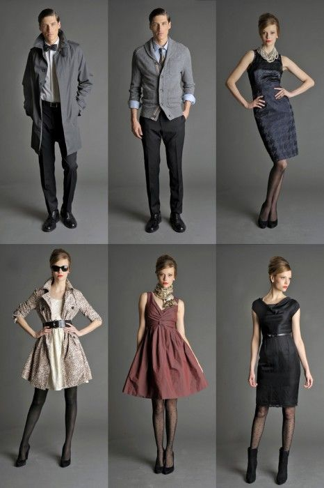 235c9a10b1 Banana Republic's Mad Men Collection | Couples fashion | Mad men ...