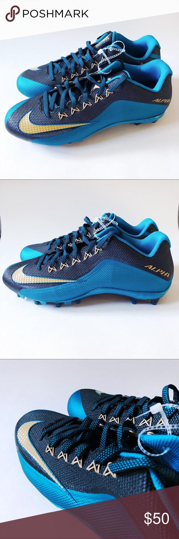 dc75610b80c2 Nike Alpha Pro 2 3 4 TD PF MENS FOOTBALL CLEATS Brand new