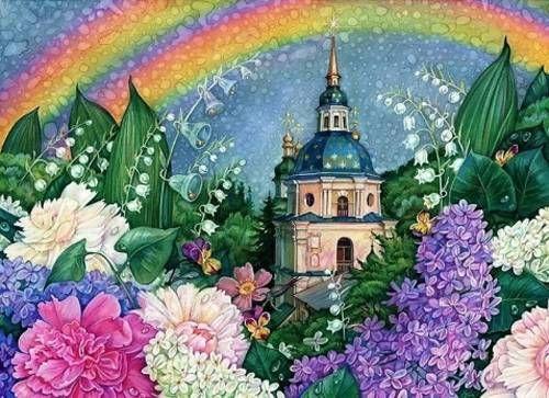Набор для алмазной вышивки мозаикой Алмазная живопись АЖ ...