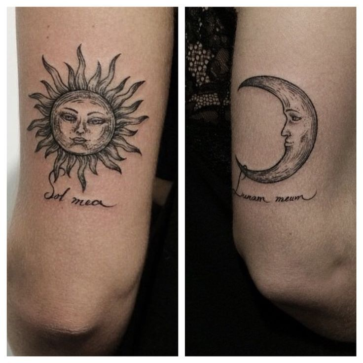 Moon Phases Yin Yang Tattoo Designs Photo - 4     | tattoos