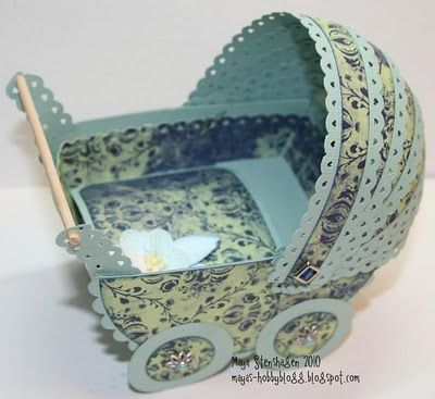 Instructions to make this gorgeous pram.