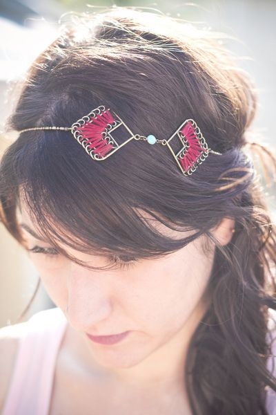 headband InKa de Lajoyeuse création ! diy Bijoux