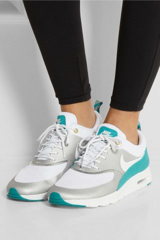 Nike | Air Max Thea mesh sneakers | NET-A-PORTER.COM, How would you style these? http://keep.com/nike-air-max-thea-mesh-sneakers-net-a-portercom-by-zarikar0121/k/1J2fDLgBM-/