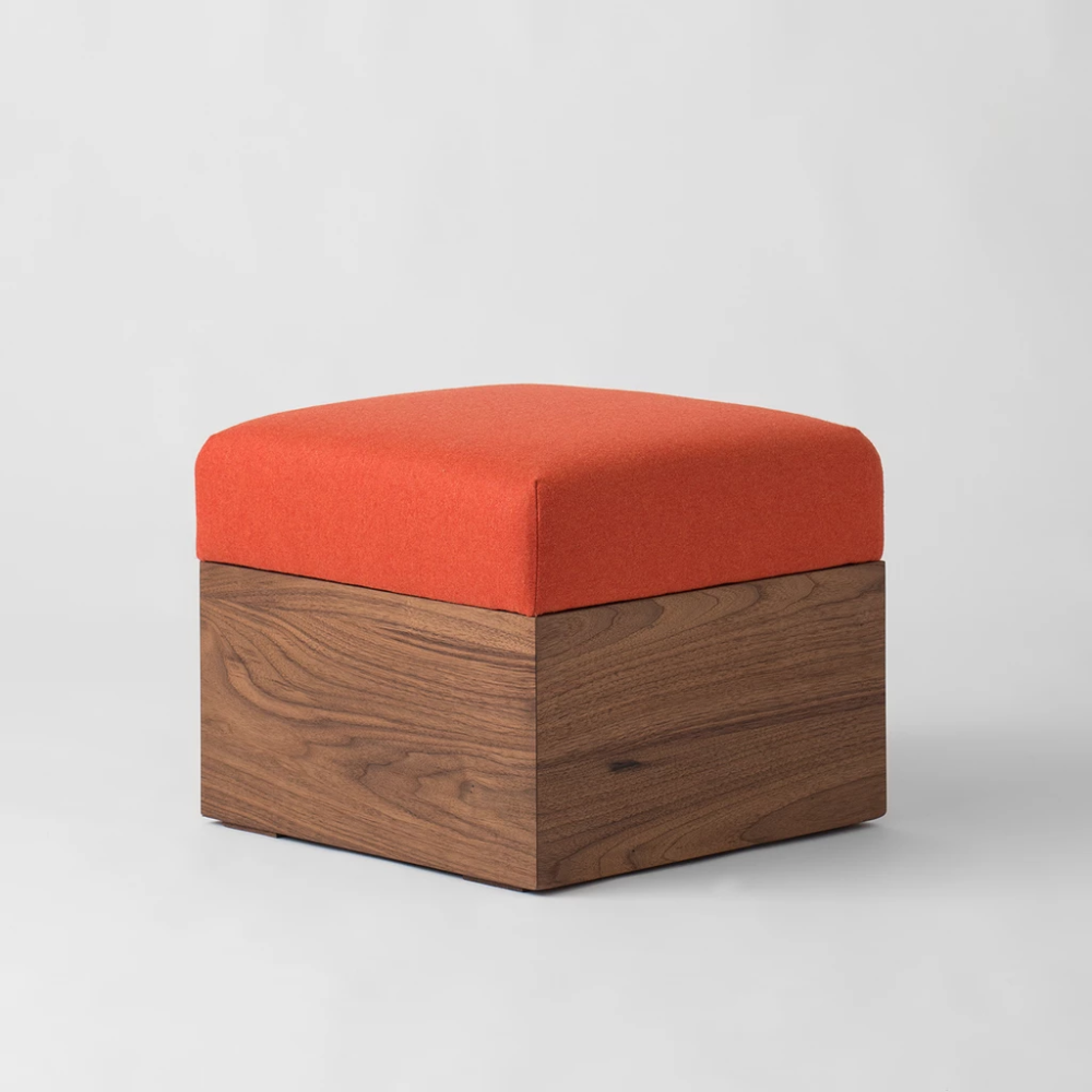Mid Century Modern Ottomans Classic Benches Modern Ottoman Orange Ottoman Ottoman [ 1000 x 1000 Pixel ]