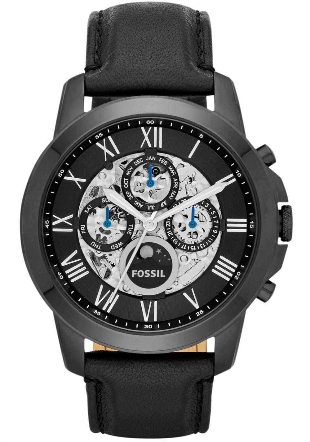 889fb0f31ed Fossil ME3028 Grant Automatic - All Black Relógios De Luxo