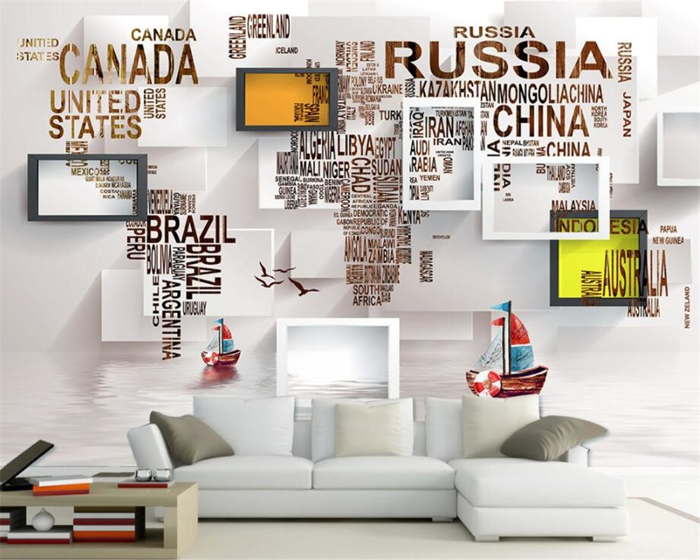 Beibehang Custom Wallpaper Living Room Bedroom Background Mura