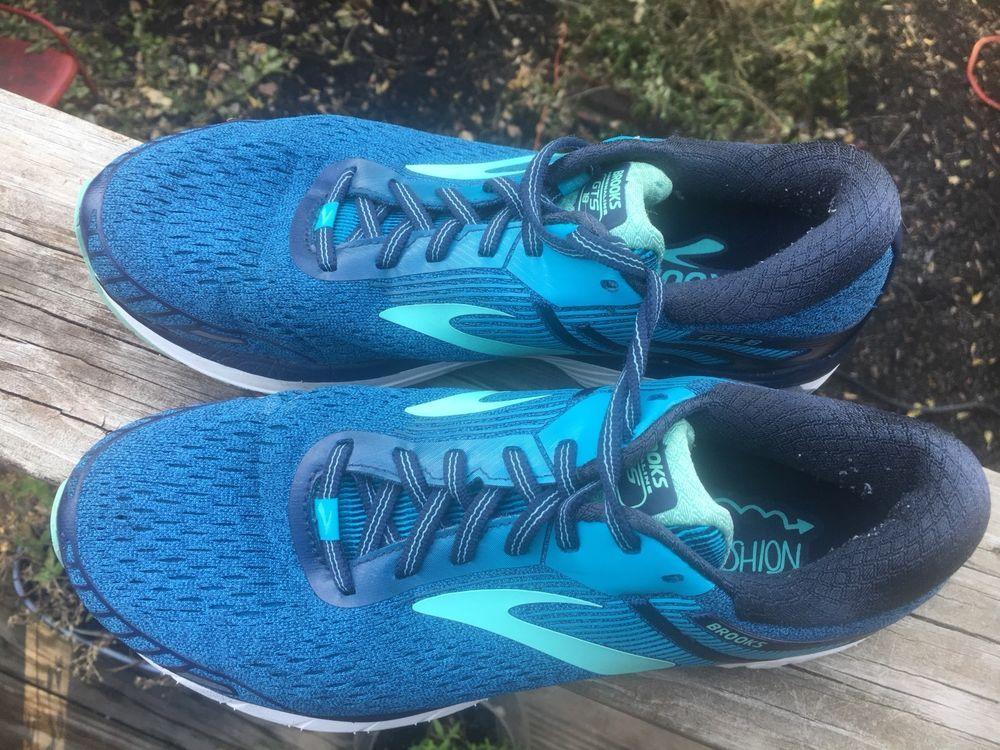 e36c9ce03da0 Brooks Adrenaline GTS 18 Women Blue size 10 Wide (D) Athletic Running Shoes  EUC  fashion  clothing  shoes  accessories  womensshoes  athleticshoes  (ebay ...