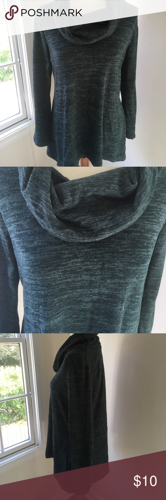 Jones New York cowl neck sweater size S Cute and comfy deep moss ...