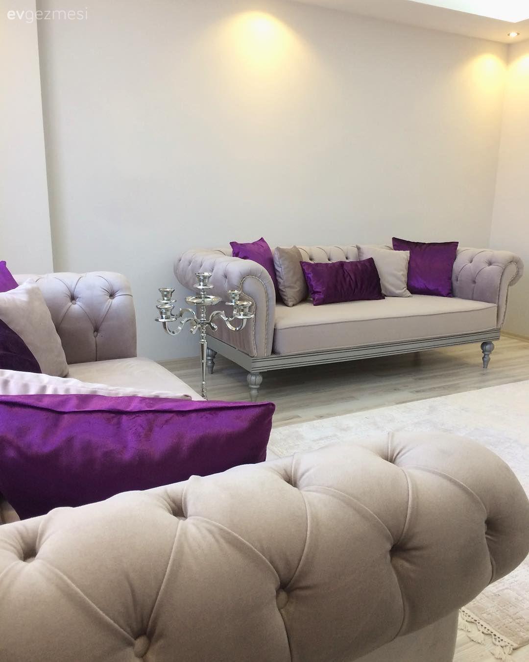 Modern Ve Klasigin Hos Bir Karisimi Uyumlu Ve Sik Bir Ev 2 Ev Gezmesi Oturma Odasi Tasarimlari Oturma Odasi Dekorasyonu Oturma Odasi Takimlari