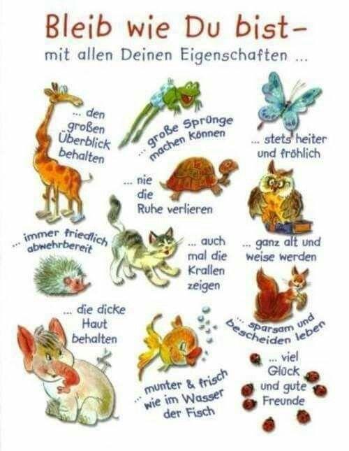Image Result For Zitate Geburtstag Bleib Wie Du Bist