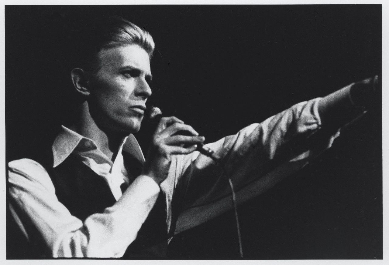 David Bowie 14 English Rock Star Legend Music Icon Actor Songwriter Poster B/&W