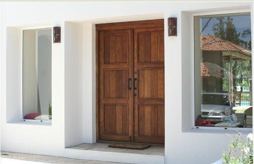 Puertas rusticas en madera buscar con google casa for Puertas para casas rusticas