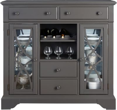 Cindy Crawford Home Ocean Grove Gray Curio U0026nbsp; X X Find Affordable China  Cabinets For Your Home That Will Complement The Rest Of Your Furniture.